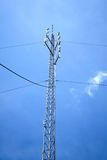символ радио иконы кнопки антенны Стоковые Фото
