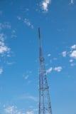 символ радио иконы кнопки антенны Стоковое Изображение RF