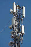 символ радио иконы кнопки антенны Стоковое Изображение