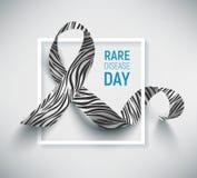 Символ редкого дня заболеванием Стоковая Фотография RF