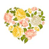 Символ сердца валентинки. Стоковые Изображения