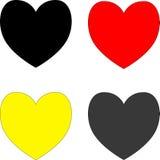 Символ сердца валентинки Стоковая Фотография RF