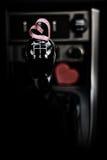 Символ сердца влюбленности и точности воспроизведения красного формирует как подарок на день валентинки Стоковые Фото