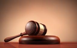 Символ судьи и правосудия закона Стоковые Изображения RF