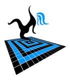 Символ танца Стоковая Фотография