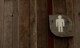 Символ туалетов людей Стоковые Фото