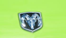 Символ штосселя доджа Стоковое Фото