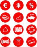 Символы банка Стоковые Фотографии RF