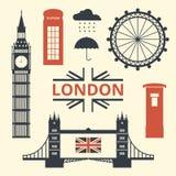 Символы Лондона Стоковое Изображение