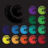 Символы логотипа или бренда иллюстрация штока