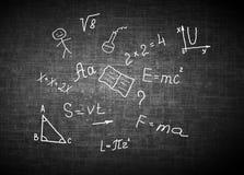 Символы школы принципиальная схема воспитательная Иллюстрация воспитательной концепции задняя школа принципиальной схемы к Стоковая Фотография RF