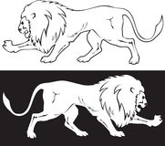 Символ льва Стоковые Изображения RF