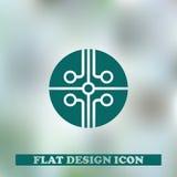 Символ JPG значка обломока Стоковое Изображение
