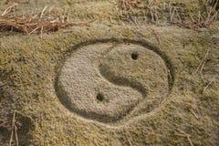 Символ najg Jin Стоковые Фотографии RF