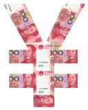 Символ RMB Стоковые Изображения RF