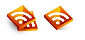 Символ RSS Стоковое фото RF