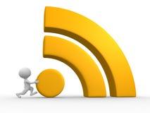 Символ RSS Стоковая Фотография