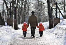 Симметричная забота детей Стоковые Изображения