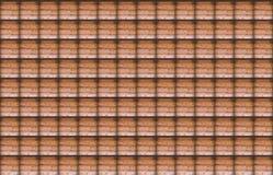 Симметричная картина изображения клетки деревянной стены с ясными границами затеняет предпосылку Стоковые Изображения RF