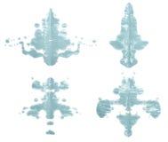 Симметричная помарка краски Стоковые Фото