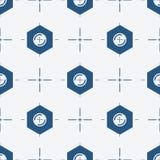 Симметричная предпосылка с иллюстрацией вектора гладкого болта Стоковая Фотография