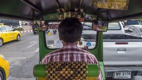 Симметричное tuk tuk Таиланда Стоковая Фотография