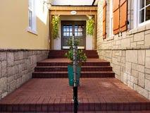 Симметричный вход стоковая фотография rf