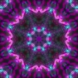 Симметрия мандалы графическая, мозаика баланса орнамента цвета текстуры уникальная, восточное оформление бесплатная иллюстрация
