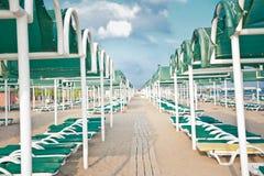 Симметрия пляжа Стоковые Изображения