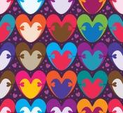 Симметрия цвета объятия влюбленности безшовная бесплатная иллюстрация