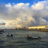 Симпатичная гавань стоковое изображение