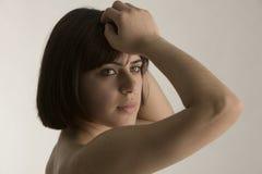 симпатичная женщина Стоковое Изображение RF