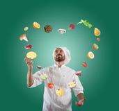 Симпатичная и творческая еда Стоковое Изображение RF