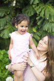 Симпатичная мать и Gir Стоковые Фотографии RF