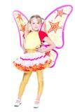 Симпатичная маленькая девочка Стоковое Фото