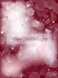 Симпатичная предпосылка валентинки Стоковые Фотографии RF