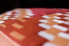 Симпатичная съемка подушки созданная методом заплатки Подушка от моей бабушки Стоковые Фотографии RF