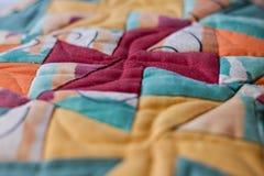 Симпатичная съемка подушки созданная методом заплатки Подушка от моей бабушки Стоковое Изображение RF