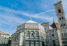 симпатичное место Собор в Флоренсе в Италии Стоковое Изображение