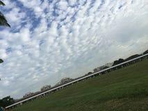 Симпатичное облако Стоковые Изображения