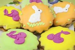 Симпатичное печенье пасхи Стоковая Фотография
