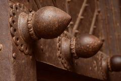 Симпатичные двери форта Golconda Стоковые Фото