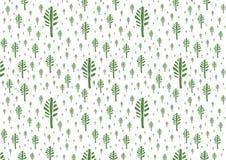 Симпатичные деревья растра Стоковая Фотография
