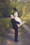 Симпатичные пары захвата Стоковые Фото