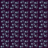 Симпатичные чувствительные цветки разбросали на всем сеть, картина Стоковые Фото