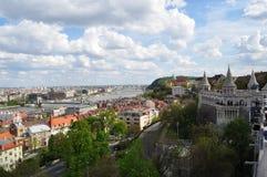Симпатичный город Будапешта Стоковые Изображения