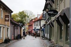 Симпатичный и ненастный нордический день Стоковые Фотографии RF