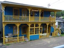 Симпатичный дом в du Nord Святого Поднимать в Канаде стоковая фотография rf