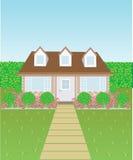 Симпатичный дом Бесплатная Иллюстрация