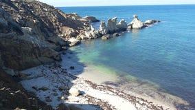 Симпатичный пляж Стоковое фото RF
